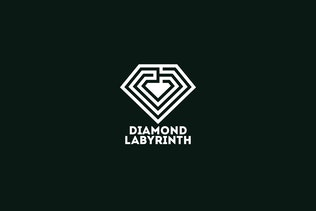 Thumbnail for Diamond Labyrinth Logo Template