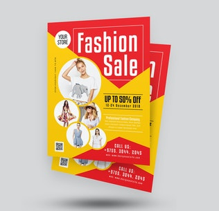 Thumbnail for Fashion Product Sale Flyer