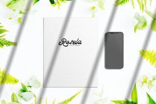 Thumbnail for Angelia - Modern Script