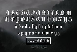 Miniature pour Darklands - Une police Blackletter