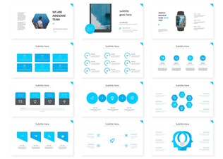 Thumbnail for Bluewel - Keynote Template