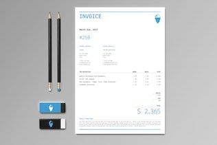 Thumbnail for Iceberg Stationery Set & Invoice