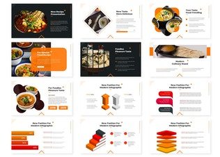 Thumbnail for Culinary - Powerpoint Template