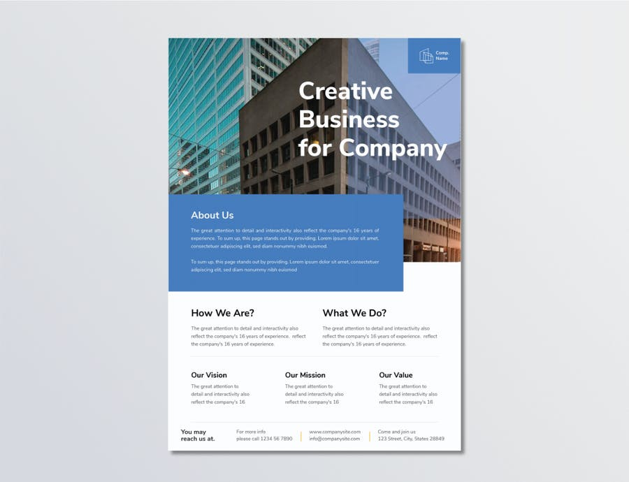 Business Flyer Template 1.2 - product preview 1