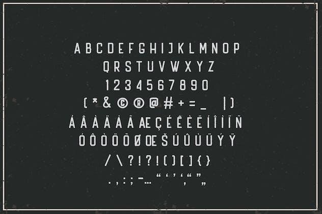 Handler Stamp Font