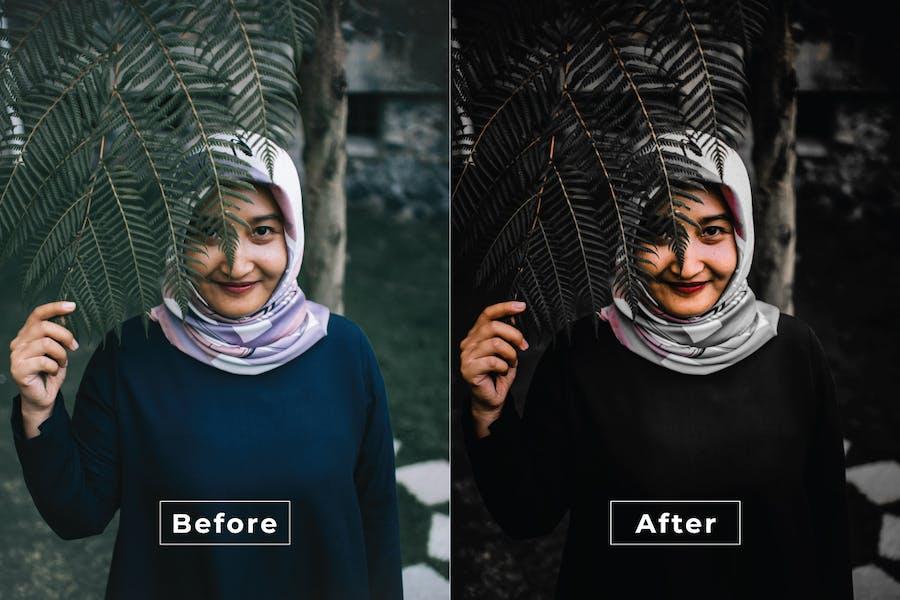Dark Side Photoshop Action