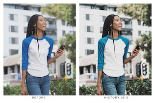 Thumbnail for 20 Freedom Lightroom Presets and LUTs