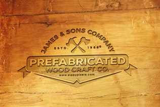 Thumbnail for Wood Logo Mockups
