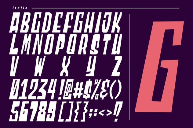 Blocky | Display Font - product preview 2
