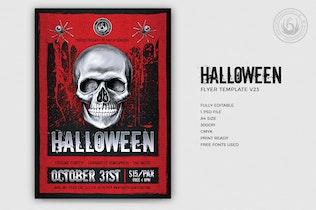 Thumbnail for Halloween Flyer Template V23