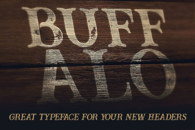 Buffalo Typeface - product preview 1