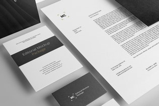 Thumbnail for Stationery Branding Mockup Vol. 3