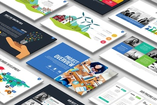 Thumbnail for Magnum PowerPoint Template