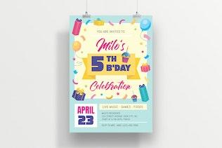 Thumbnail for Birthday Celebration Invitation