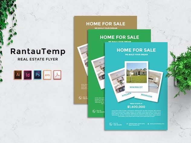 RantauTemp - Real Estate Flyer v6