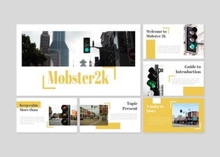 Thumbnail for Mobster - Keynote Template