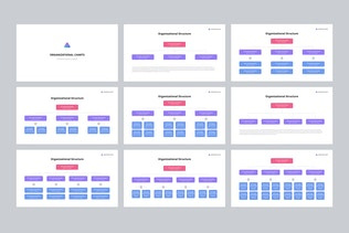 Thumbnail for Org Charts PowerPoint Templates