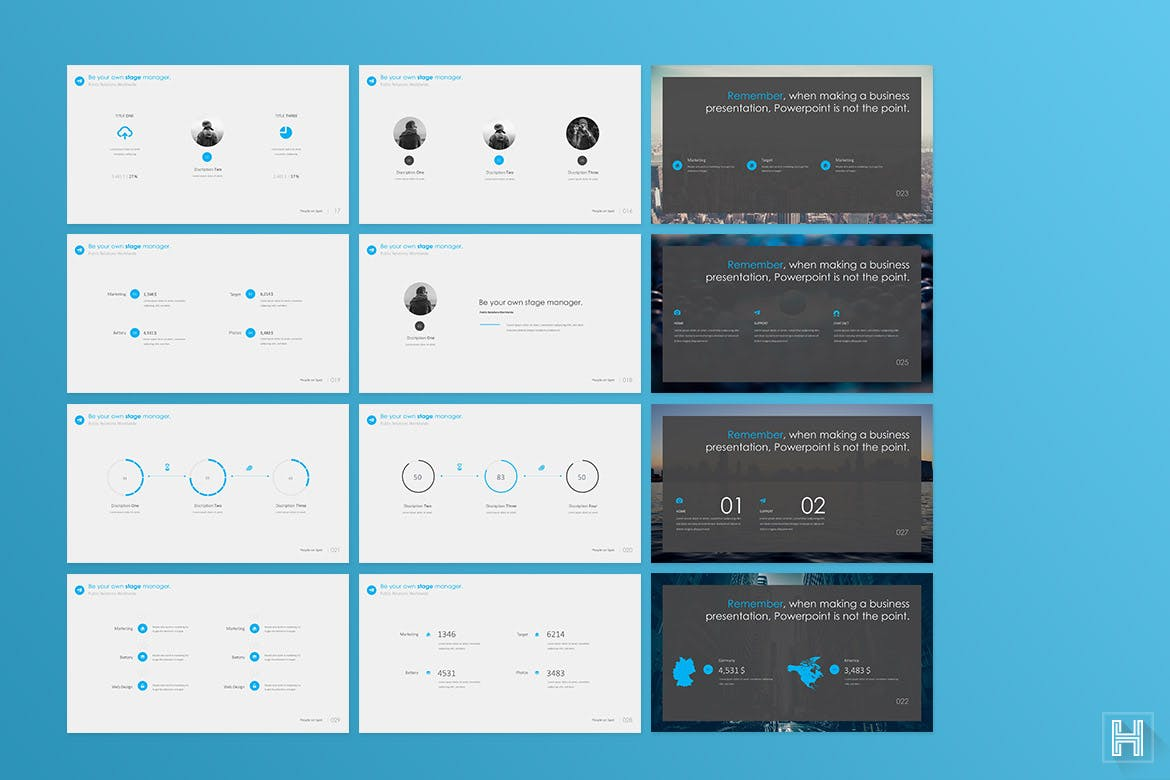download 640 powerpoint marketing presentation templates