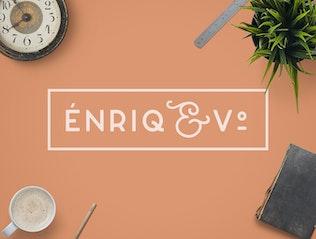 Miniatura para Enriq Round Sans Con serifa Font