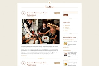 Thumbnail for Elegantia - Restaurant and Cafe HTML Template