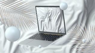 Thumbnail for 10 Light Laptop Mockups