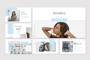 Thumbnail for Brooklyn - Keynote Template