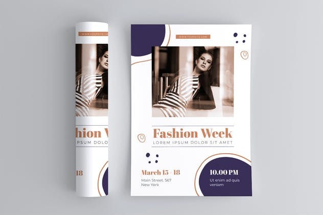 Fashion Week Flyer - product preview 2