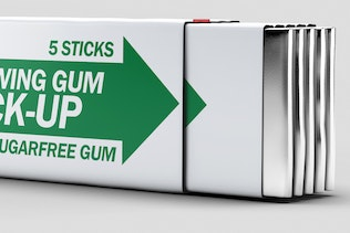 Chewing Gum Mock-up