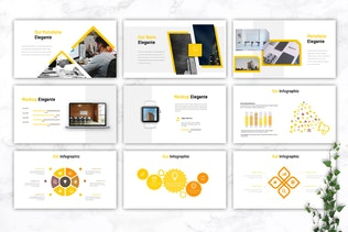 Thumbnail for ELEGANTE - Business Google Slides Template