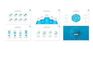 Thumbnail for Bluewel - Google Slides Template