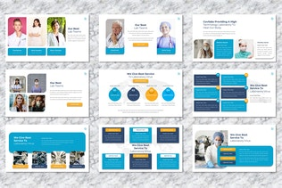 Covilabs - Covid Medical Powerpoint Template