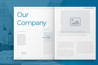 Thumbnail for Blue Business Brochure