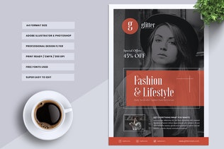 Thumbnail für Glitter Fashion Flyer