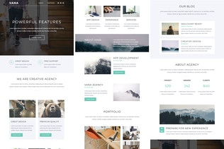 Thumbnail for Vana - Responsive Email + StampReady Builder