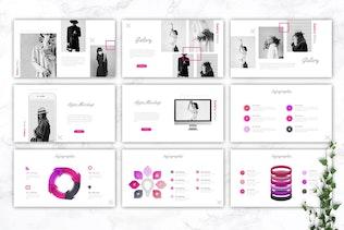 Thumbnail for MORIMO - Fashion Powerpoint Template