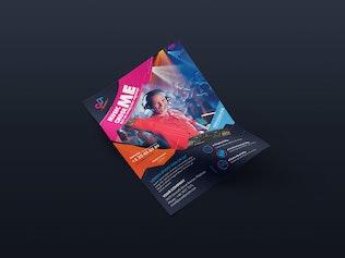 Thumbnail for DJ/ Flyer Template 02
