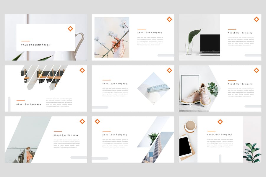 Tele - Creative PowerPoint Template - product preview 1