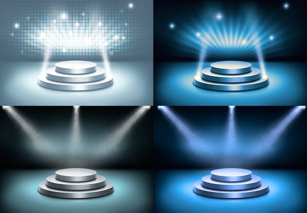 Stage and Lights Backgrounds - product preview 6