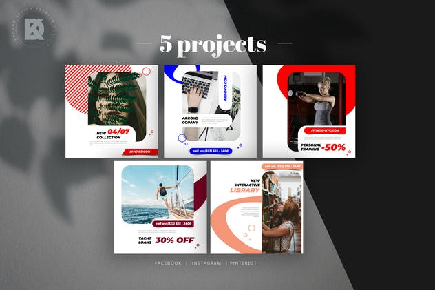 Social Media Pack - product preview 1