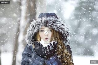 Thumbnail for 50 Winter Lightroom Presets
