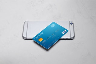 Thumbnail für Kreditkarten-Mockup