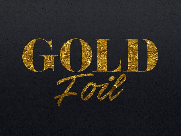 Gold Text Effects 2 - product preview 6