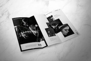 Thumbnail for Fashion Trifold Brochure