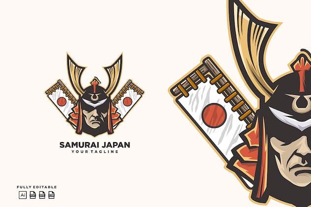 Samurai Japan Logo template - product preview 1
