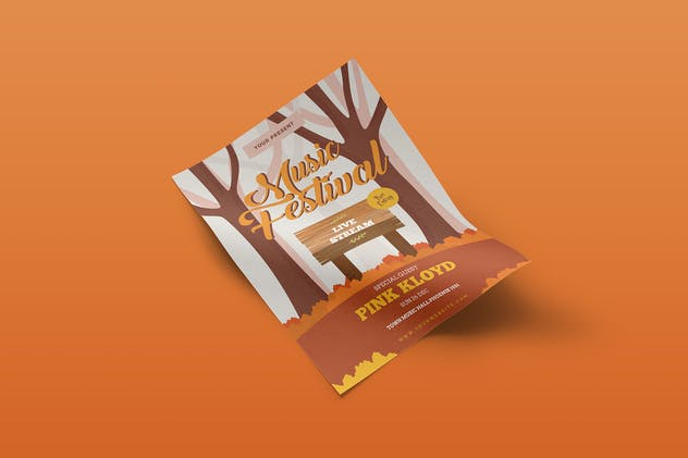 Music Festival Flyer Template Vol. 01 - product preview 3