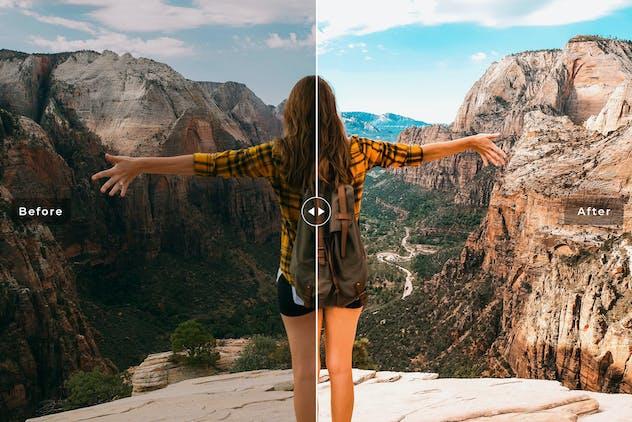 Valley Mobile & Desktop Lightroom Presets - product preview 2