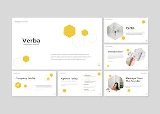 Verba - Power Point Template