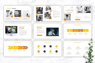 Thumbnail for EMERALD - IT Company Google Slides Template