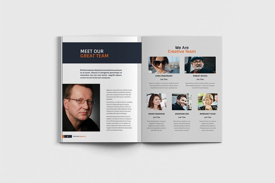 Workfice - A4 Business Brochure Template - product preview 3
