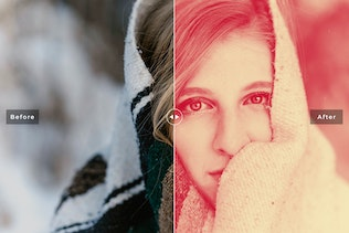 Thumbnail for Duotone Pro Photoshop Actions
